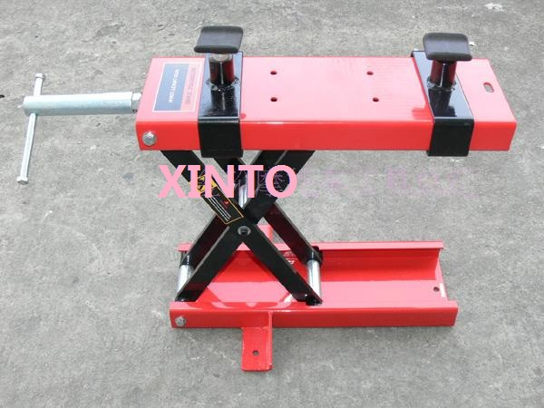 400KG/900LB Motorcycle stand motorcycle lift table motorcycle Scissor Lift table Garage Shop Stand(China (Mainland))