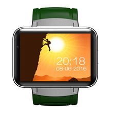 Buy 2.2 inch Android 4.4 OS 3G Smartwatch Phone MTK6572 Dual Core 1.2GHz 4GB ROM Camera WCDMA GPS DM98 Bluetooth Smart Watch for $99.70 in AliExpress store
