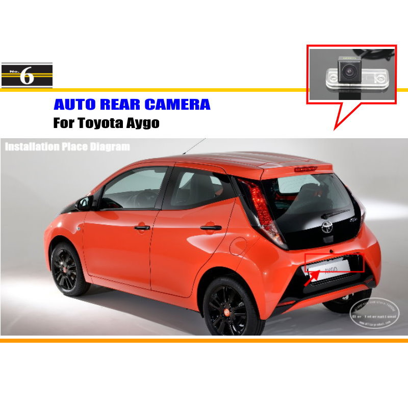 For Toyota Hilux / iQ / Matrix / Aygo - Car Rear View Camera / Back Up Reverse Parking Camera / HD CCD Rearview(China (Mainland))