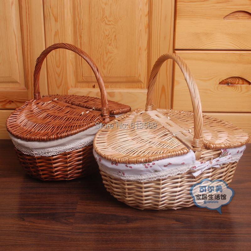 Panier Osier Vapeur : Achetez en gros pique nique osier panier ligne ? des