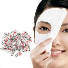 50 Pz Pelle Cura DIY del Fronte Facciale di Carta Compressa Masque Maschera Per Le Donne Buona Pelle(China (Mainland))