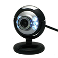 HD 12 0 MP 6 LED USB Webcam Camera with Mic Night Vision for Desktop PC