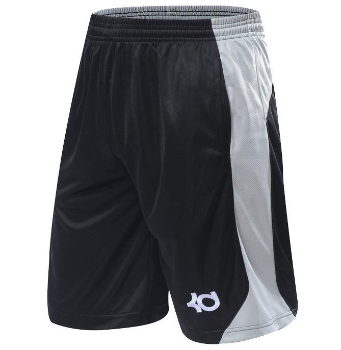NEW 2016 Brand Athletic KD Gym Shorts Sport Running Knee Length Elastic Loose Pocket Basketball Shorts Bottoms Plus Size XL-4XL(China (Mainland))