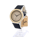 BOBO BIRD A07 Casual Simple Style Unisex Watches Stainless Steel Case With Wood Dial Quartz Watch