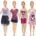 NK 5 Set  Randomly Combine Type Latest Doll Costume Stunning Celebration Garments Prime Trend Costume For Barbie Noble Doll Finest Women' Present
