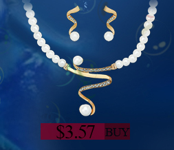 Indian jewelry gold plated Simulated-pearl Rhinestone jewelry sets African beads Neckalce Earrings Wedding jewelry Charm schmuck