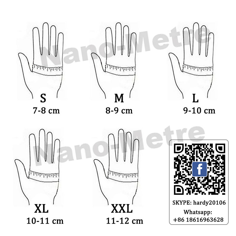 NMSafety 13 gauge nylon nitrile dipping work gloves nitrile working glove Nylon knitted nitrile Palm gloves