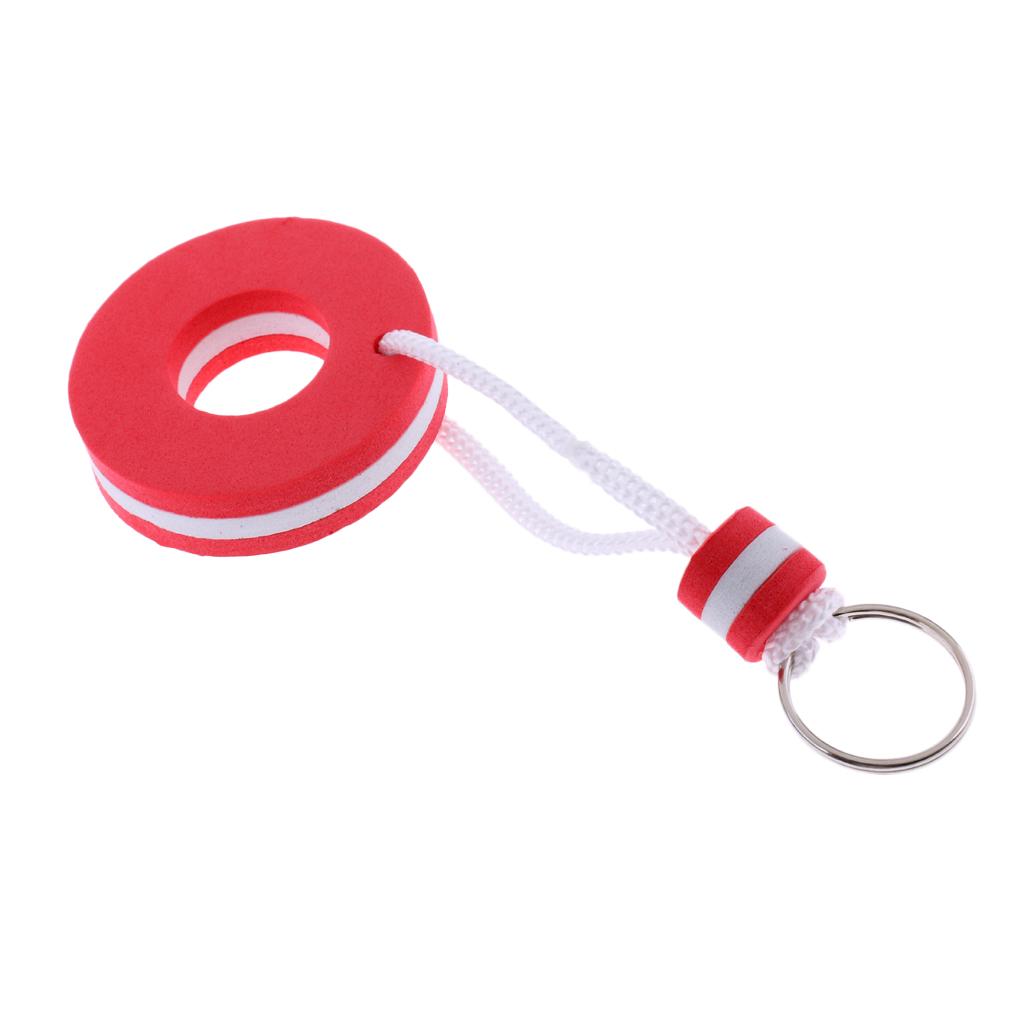 EVA Sailing Water Sports Floating Key Ring Keychain Rings Marine Sailing Boat Novelty Key Chain