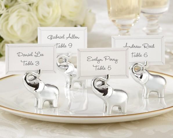 Elephant Wedding Favors Wedding Favor Elephant Silver