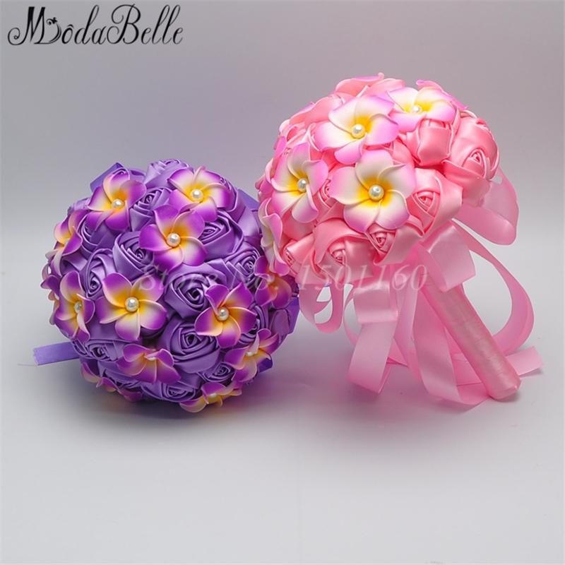 Bouquet De Mariage Top Quality Silk Artificial Bride Flowers Bridal Wedding Bridesmaid Bouquets