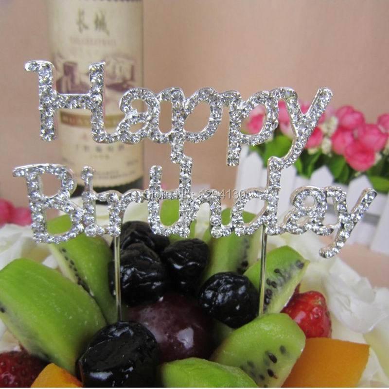 Rhinestone Birthday Birthday Rhinestone Cake