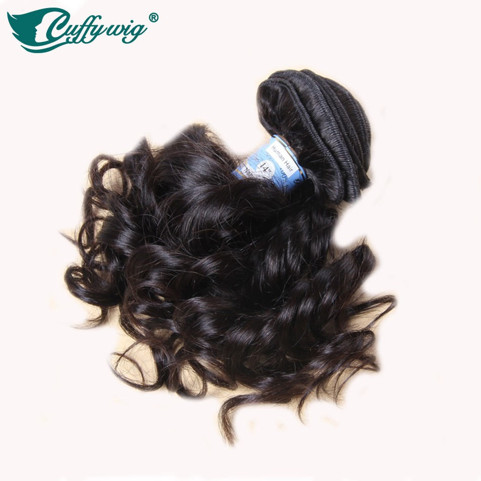 2016 New Style Virgin Brazilian Remy Human Hair Clip In Extensions 7pieces Full Head #1b Natural Bouncy curly Free Shipping