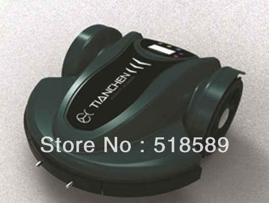 robot/auto lawn mower/automower, auto work/recharge, grass cut height: 2.5-6.5cm, with remote control/ultrasonic radar