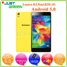 Original Lenovo K3 Note 4G FDD LTE Cell Phones 5.5″ 1920X1080P IPS MTK6752 64Bit Octa Core 13MP Camera Dual SIM GPS Android 5.0
