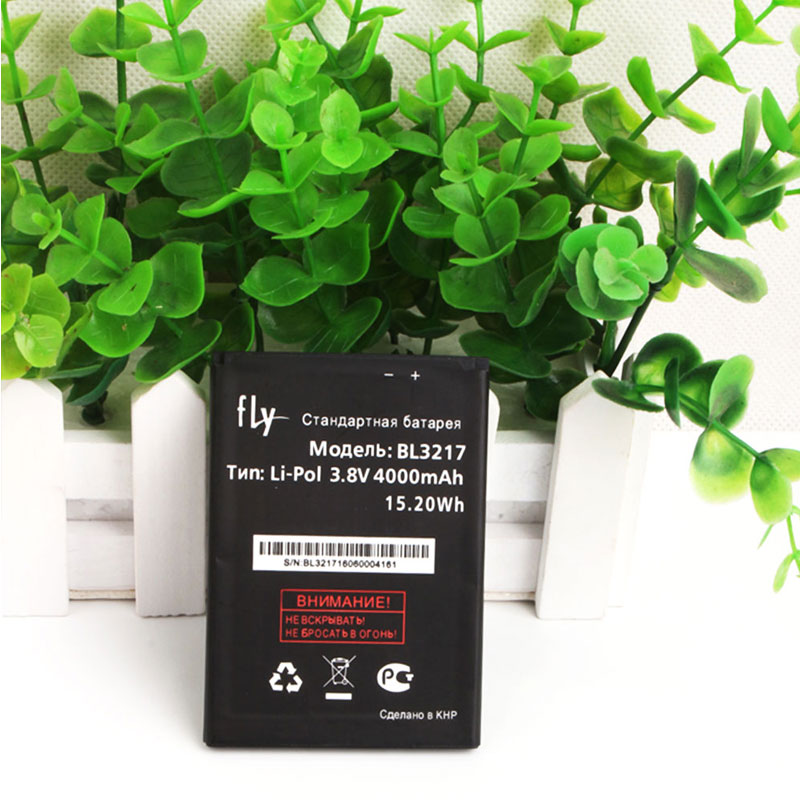 Fly BL3217 Battery Original Battery 4000mAh Backup Bateria Smartphone Replacement Accessary For Fly BL3217 Mobile Phone