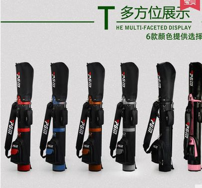 brand PGM. Free shipping by EMS. PGM Golf Brand New Authorized. RACK bag, water-proof. 9-pieces clubs holder(China (Mainland))