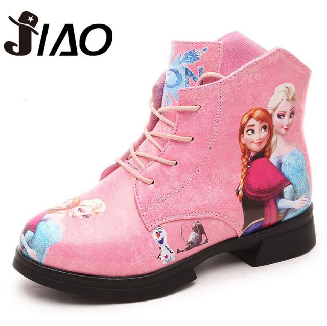 2016 Детская обувь мальчики девочки горячие моды Анна Эльза Мартин австралия сапоги одиночные низкие короткие botas детей детское нина осень обувь сапоги резиновые сапоги для девочек резиновые сапоги детские