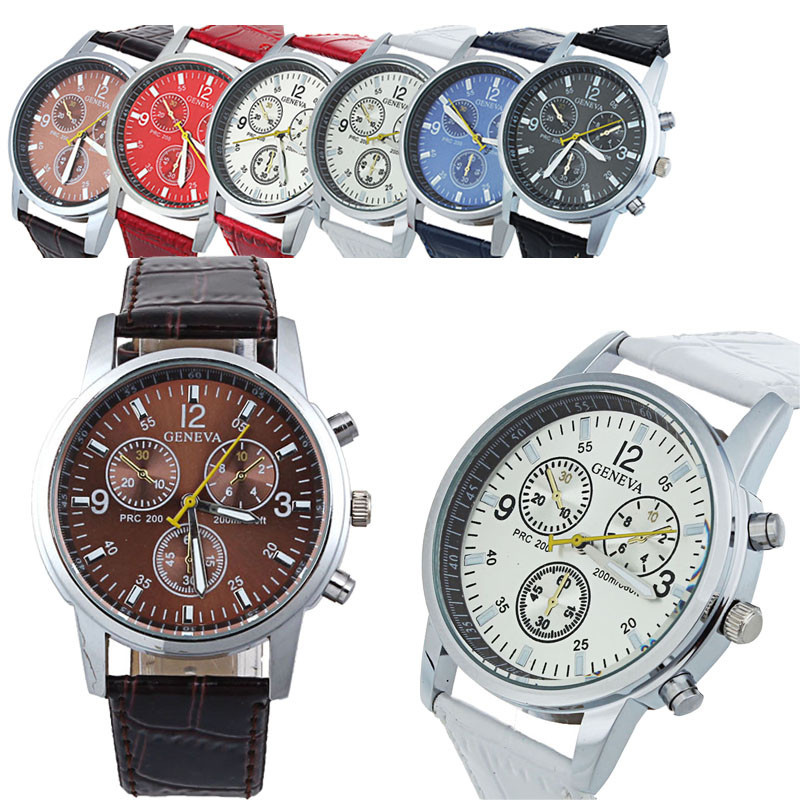 Gofuly New Luxury Fashion Dress Watch Women's Fashion Leather Belt Quartz Analog Dial Watches(China (Mainland))