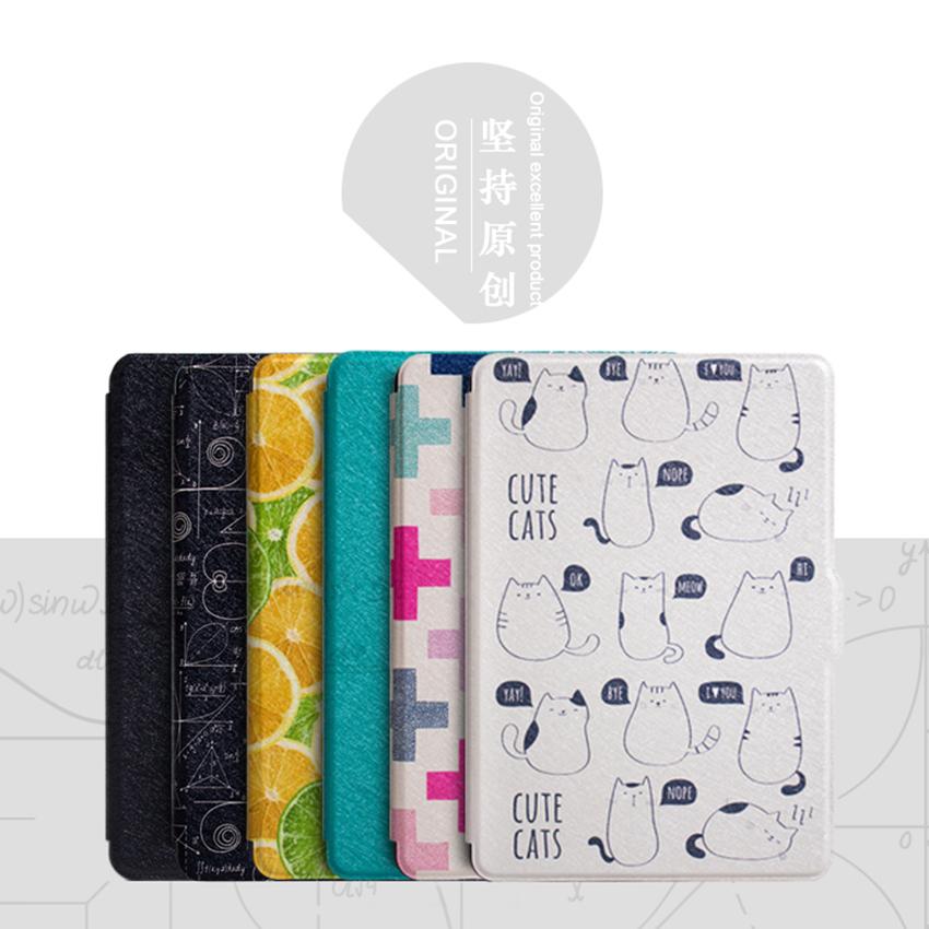WALNEW Original Thin PU Leather Case for Amazon Kindle Paperwhite Cover 1 2 3 2012 2013 2015 Smart 6 inch E-book Auto Sleep/Wake