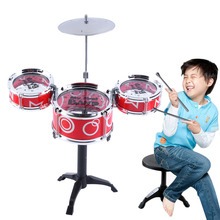 Children Kids Educational Toy Rock Drums Simulation Musical Instruments Hot Selling(China (Mainland))