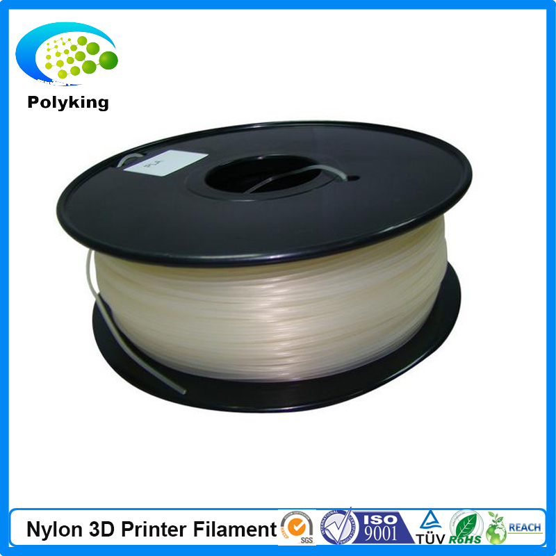 1 75mm 3mm 1KG Spool Transparent PA Nylon 3D Printer Filament Consumables Material For Mendel Printrbot