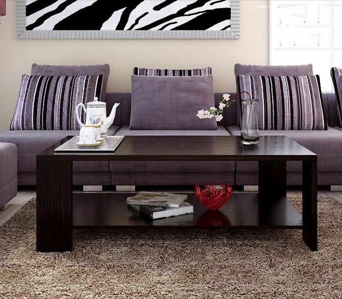 Northern Europe Style Coffee Table For Living Room Espresso Home Furniture Living Room Table(China (Mainland))