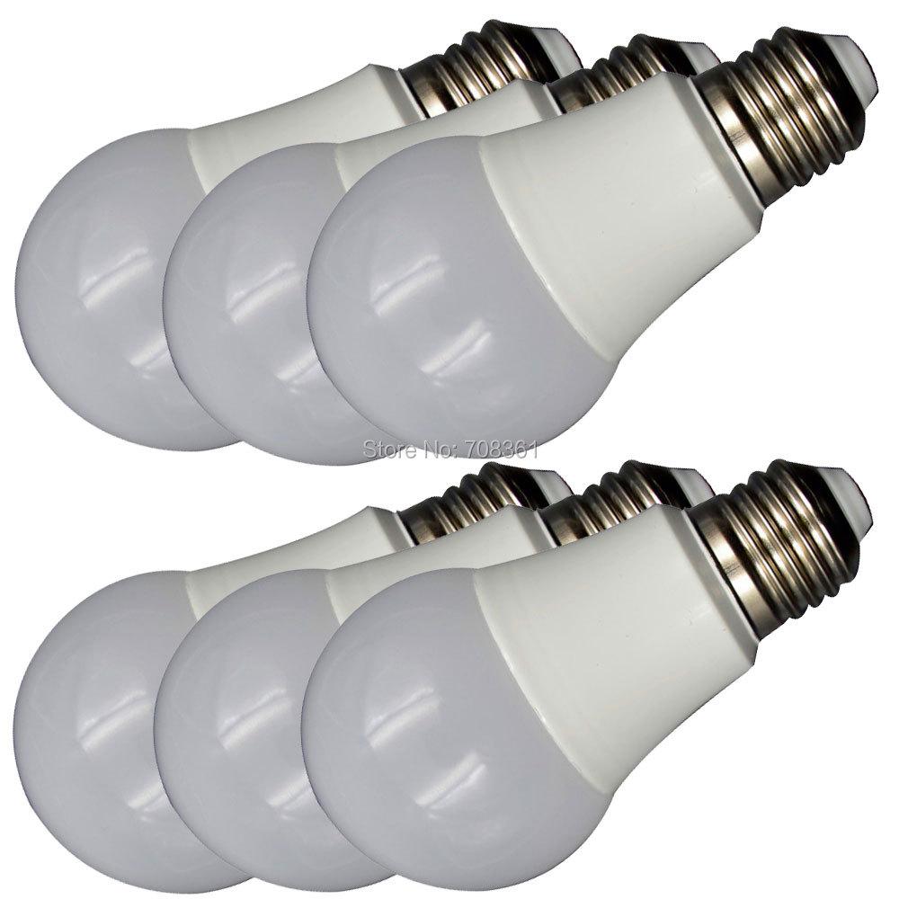 ELEDISON (6-Pack) LED A19 A60 LED Bulb Globe 9W E27 Base Courtyard Bedroom Ceiling Lighting Bulb 2700K 4000K 6000K(China (Mainland))