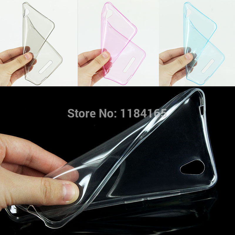 Super Slim Soft Skin Gel Silicone TPU Case for ZTE Blade X3/ D2 5 inch Perfect Fits Cover 4 Pure Colors High Clear(China (Mainland))