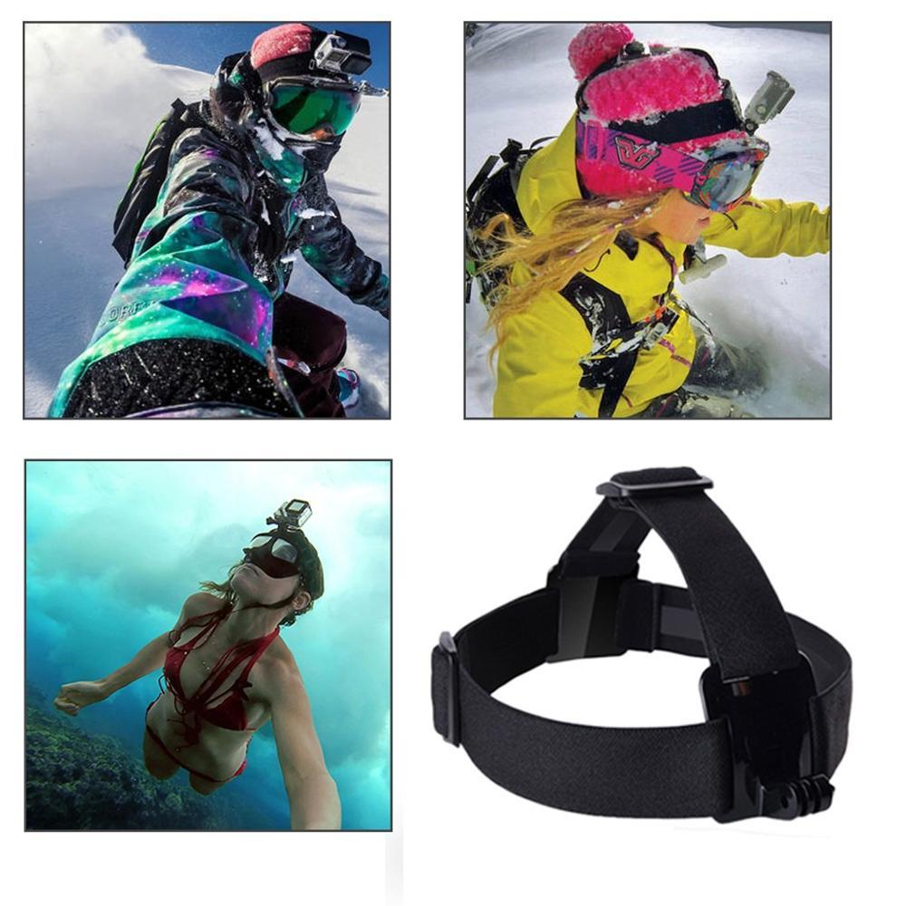 Gopro Accessories Chest Head Strap Monopod Floating Bobber Mount for Go pro Hero 4 3+2 xiaomi yi action camera sjcam sj4000 GS22