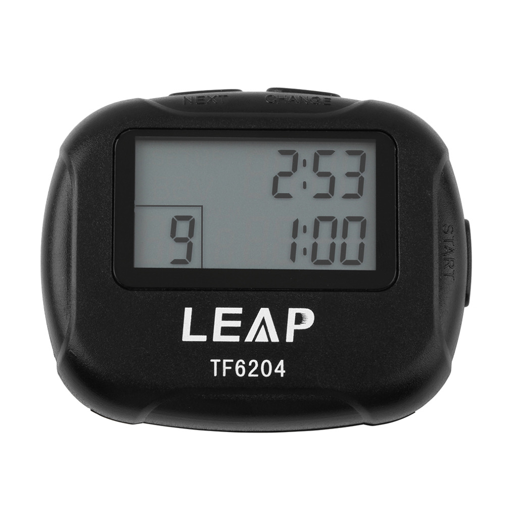 Training Electronics Interval Timer Segment Stopwatch Interval Chronograph for Sports Yoga Cross fit Boxing other GYM