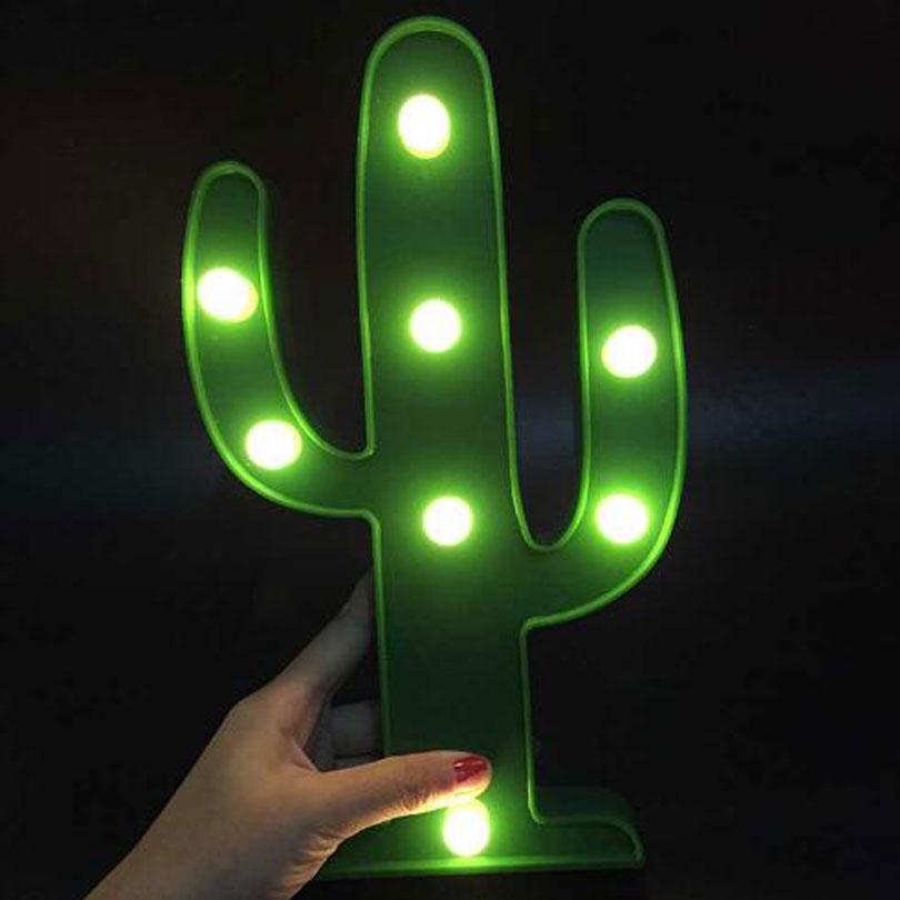 Pineapple Cactus lamp