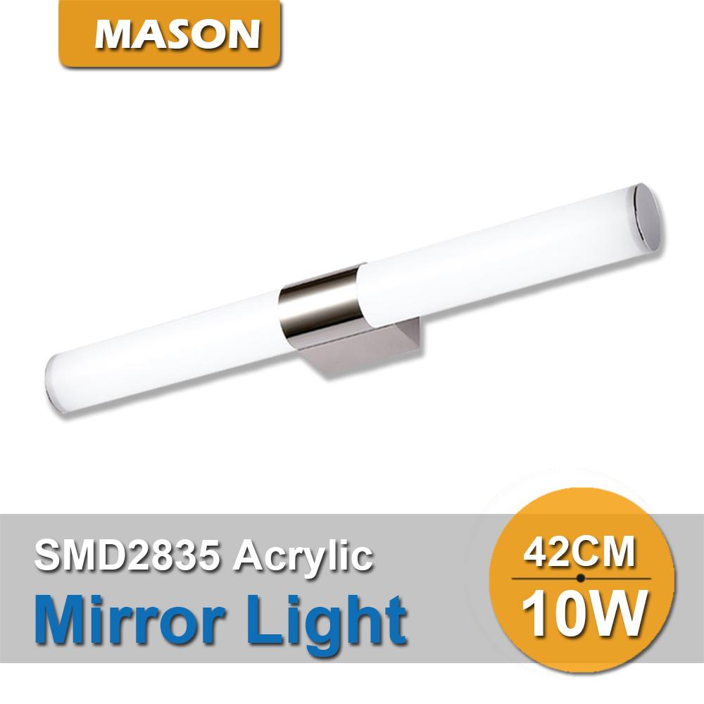 Modern design Acrylic 10W 46CM luminaire decoration LED Bathroom Dressing table mirror lights bathroom wall sconces lamp(China (Mainland))