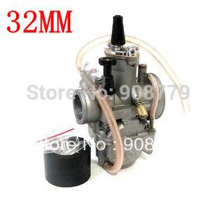 Free Shipping motorcycle KOSO PWK GY6 150cc OKO High Performance Flatside Carburetor Dirt Pit bike Parts 32mm(China (Mainland))