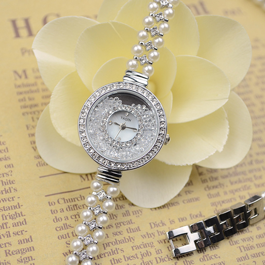 Queen yaqin fashion watches 6166 vintage ring pearl quartz watch waterproof<br><br>Aliexpress
