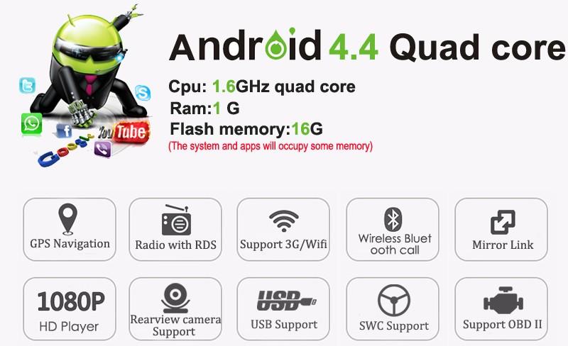 10.1 inch Quad core Android 4.4 Car dvd For Nissan X-Trail xtrail 2014 2015 Qashqai 2016 GPS headunit Car radio navigation map