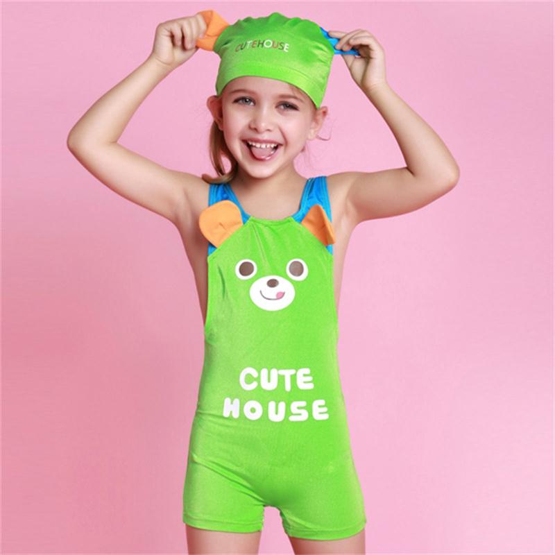 Hote Sale One Piece Baby Girl Swinsuit Lovely Kids Animal ...