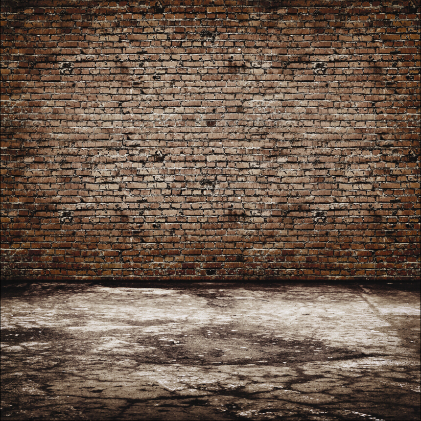 150cm*150cm Vinyl Custom Brick Wall Photography Backdrops Prop Photo Studio Background TV27 - Green City Digital store