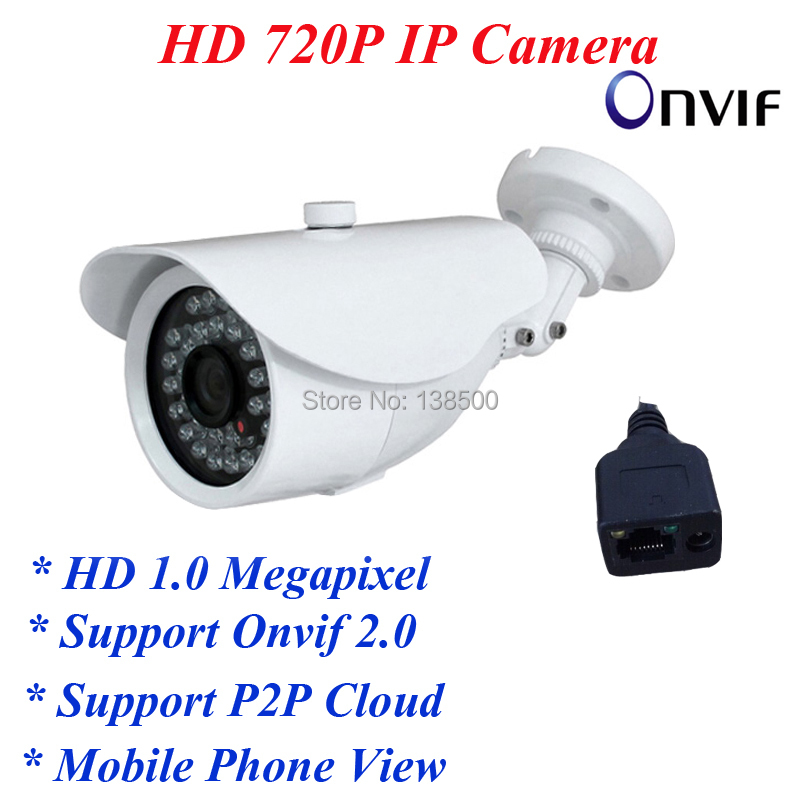Free Shipping Wholesale 1.0MP 720P IP Camera Network P2P Onvif Outdoor Security Waterproof Night Vision<br><br>Aliexpress