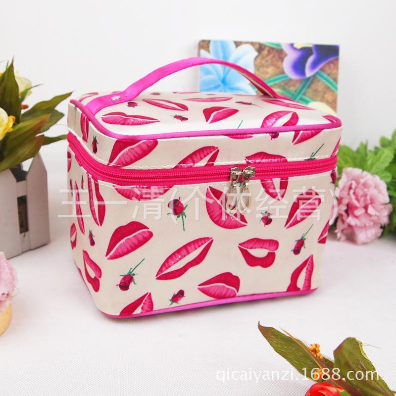 17 Colors Lady's Makeup Bag multi functional cosmetic storage bags package large capacity bag - Sweet Hat store