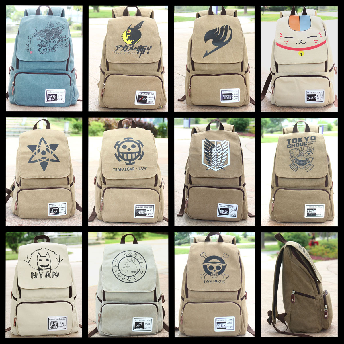 The cartoon bag onslaught of giant demon tail xiamu Huoying rodgeris Totoro Tomb of male and female students Backpack(China (Mainland))