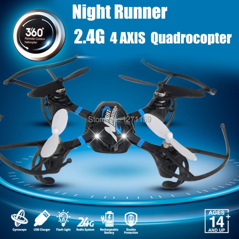 Quadrocopter 6CH remote control aircraft gyroscope built-German imports novice 2.4G remote control model aircraft(China (Mainland))