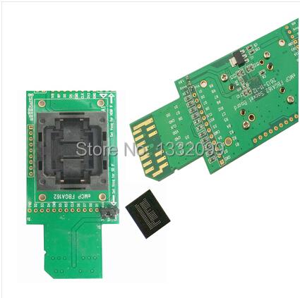 eMCP162 / 186SD test adapter emcp programmer BGA162 socket burning socket BGA162 test fixture(China (Mainland))