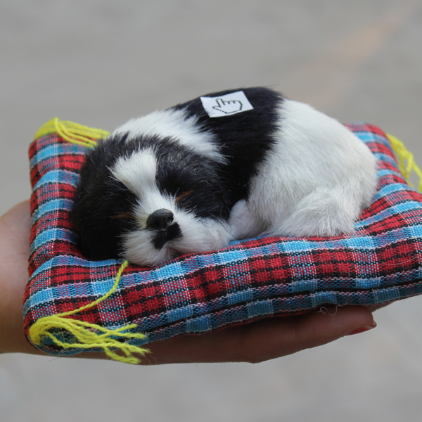 Fake Toy Dogs : Cm long best made fake sleeping dog toy equiped with