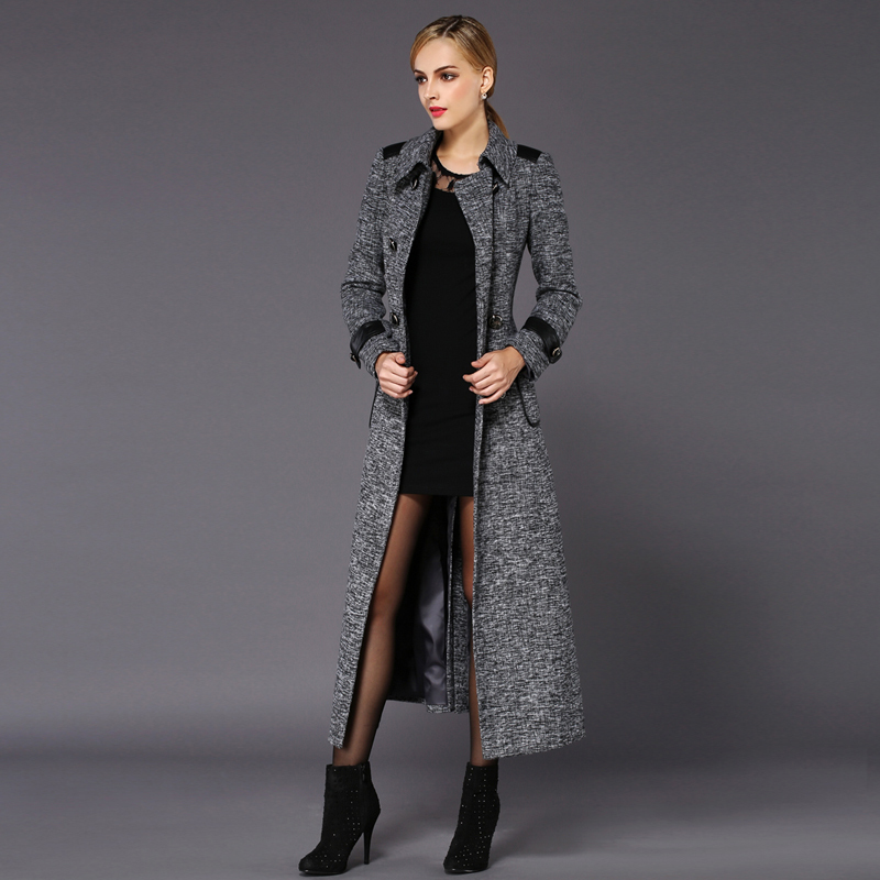 Grey Winter Coats Womens - Tradingbasis