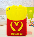 NEW Soft 3D rubber for iPad mini2 3 cases Funny Mcdonald s French Fries Chips Soft