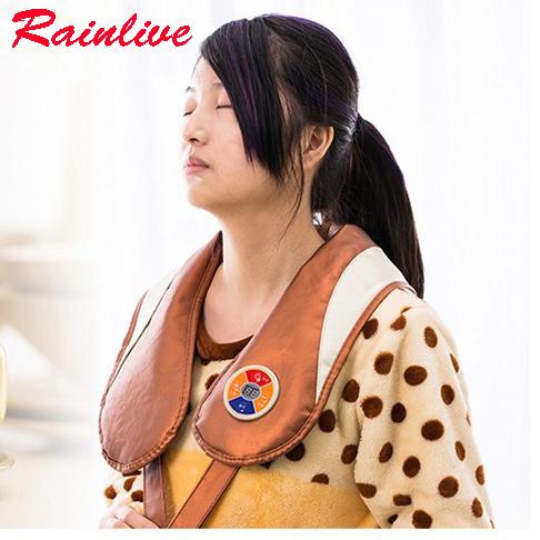 Massage shawls Cervical vertebra massage cape neck shoulder back waist beating massager instrument health care master(China (Mainland))