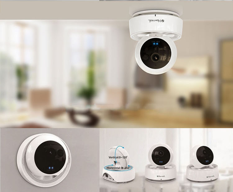 PTZ Ip camera wifi baby Monitors Pan/Tilt/ Night Vision Intelligent Surveillance CCTV Camera support Alarm Two Way Audio<br><br>Aliexpress