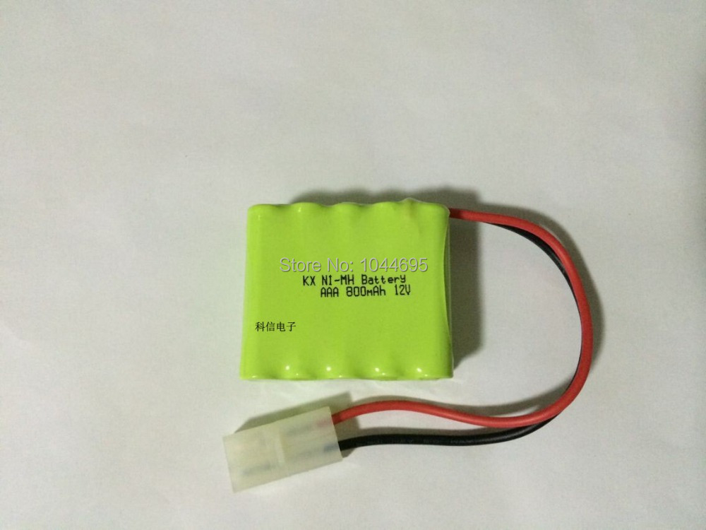 2PCS 100% Original Brand New KX Battery Pack 12V 800mAh AAA NIMH Rechargeable Battery With Plug Free Shipping(China (Mainland))