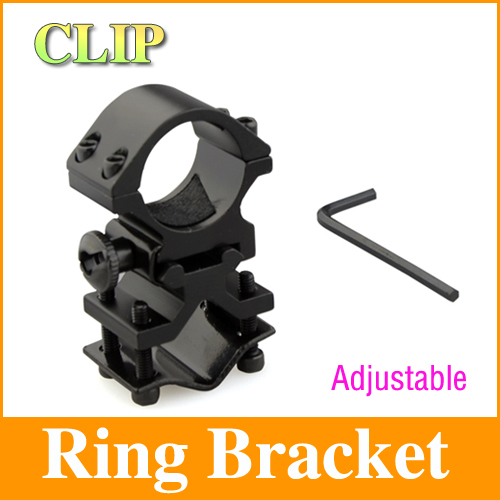 25mm Ring Bracket Rail Mounted For Flashlight Torch Laser Gun Optical Sight  Clip Clamp easily installed LF23<br><br>Aliexpress
