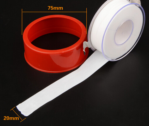 free shipping,3roll/lot Teflon Tape Thread Fitting Sealant Burnability Belt Thread Seal Tape for Sealant Water Pipe Connector(China (Mainland))